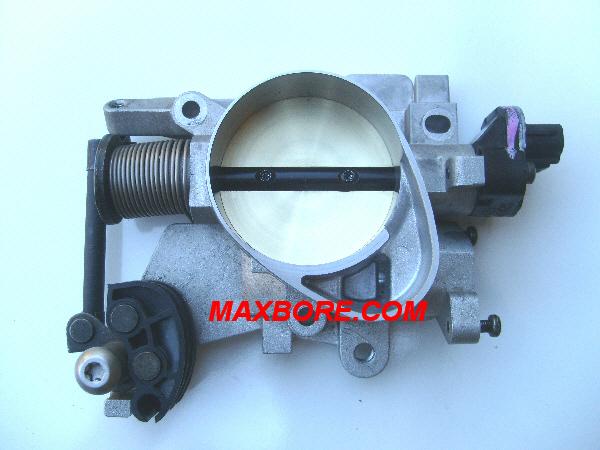 Maxbore com throttle body boring service and repair